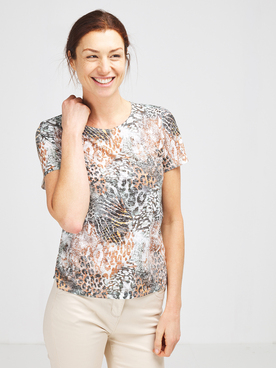 Tee-shirt DIANE LAURY 57DL2TS402 Marron
