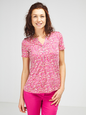 Tee-shirt DIANE LAURY 57DL2TS104 Rose fuchsia