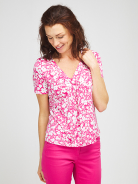 Tee-shirt DIANE LAURY 57DL2TS103 Rose fuchsia