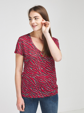 Tee-shirt ONE STEP FS10091 Rouge