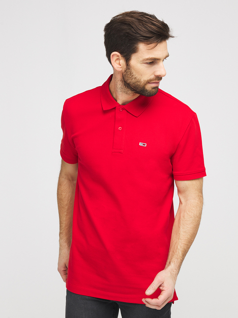 Polo en piqué coton stretch TOMMY JEANS