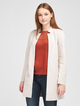 Veste ONLY 15218563 Beige