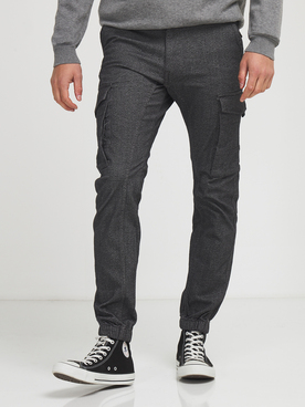Pantalon JACK AND JONES PAUL CHINL32 Gris