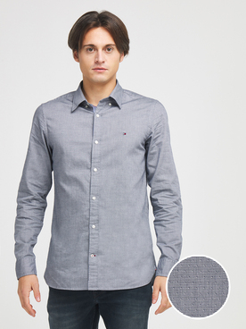 Chemise manches longues TOMMY HILFIGER MW0MW14011 Gris