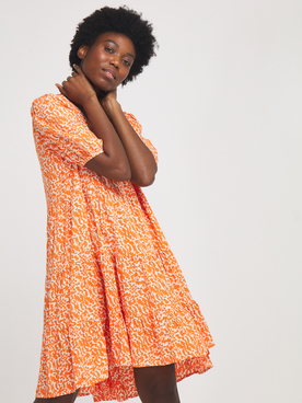 Robe VERO MODA 10245942 Orange