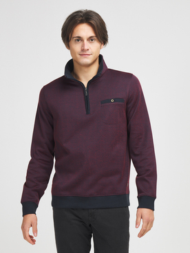 Sweat-shirt COMMANDER 214007947 Rouge bordeaux
