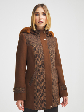 Manteau DIANE LAURY 56DL2MA816 Marron