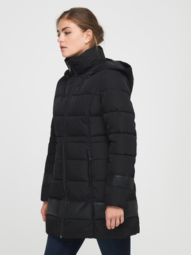Parka ONE STEP FR44181 Noir