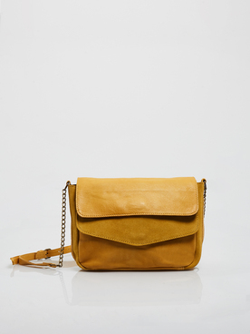 Sac PIECES 17107569 Jaune moutarde