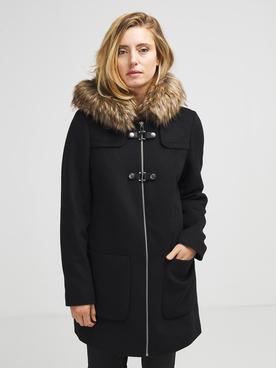 Julie guerlande manteau 56JG2MA000 noir femme | Des marques