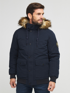 Blouson JACK AND JONES SKY BOMBER Bleu marine