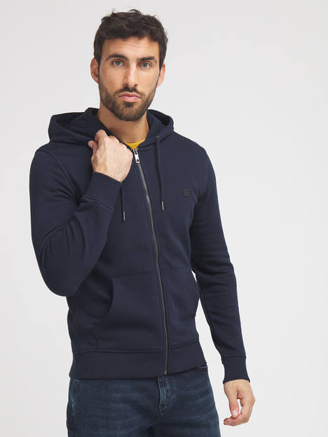 Sweat-shirt zippé à capuche ESPRIT