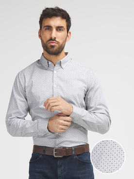 Chemise manches longues ODB 56OD1CS303 Gris