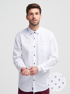 Chemise manches longues CARDIN 27351T5893 Blanc