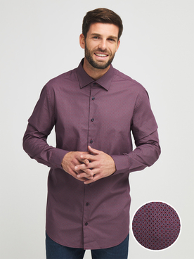 Chemise manches longues CARDIN 27207T5722 Rouge