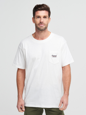 Tee-shirt JACK AND JONES EAZY TEE Ecru