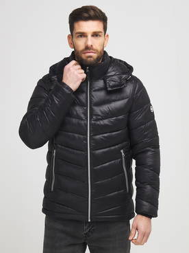 Doudoune JACK AND JONES ROLL PUFFER Noir
