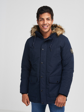 Parka JACK AND JONES SKY PARKA JK Bleu marine