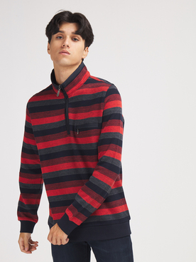 Sweat-shirt COMMANDER 214007934 Rouge