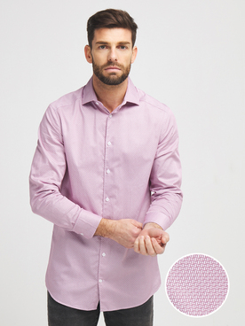 Chemise manches longues ODB 56OD1CV603 Rose