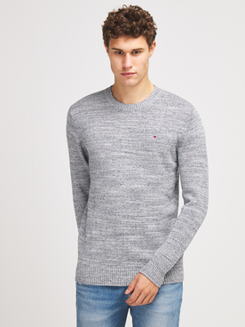 Pull TOMMY JEANS TEWTURE SWEA Gris