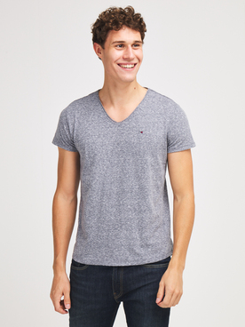 Tee-shirt TOMMY JEANS BASIC V T Gris