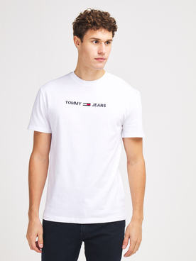 Tee-shirt TOMMY JEANS STRAIGHT T Blanc