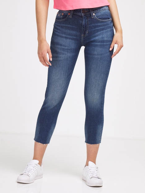 Jean slim taille haute cropped TOMMY JEANS