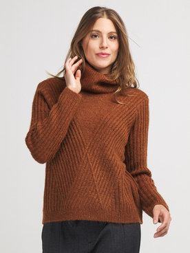 Pull ONLY 15214114 Marron