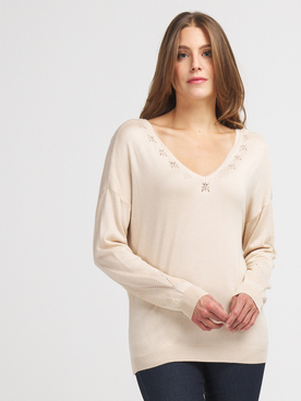 Pull ONLY 15211902 Beige