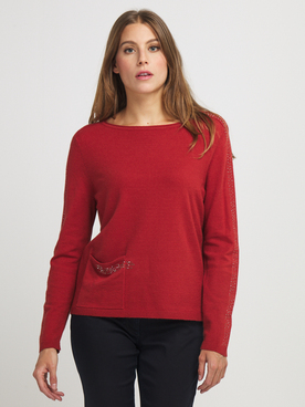 Pull BETTY BARCLAY 5219 1862 Rouille