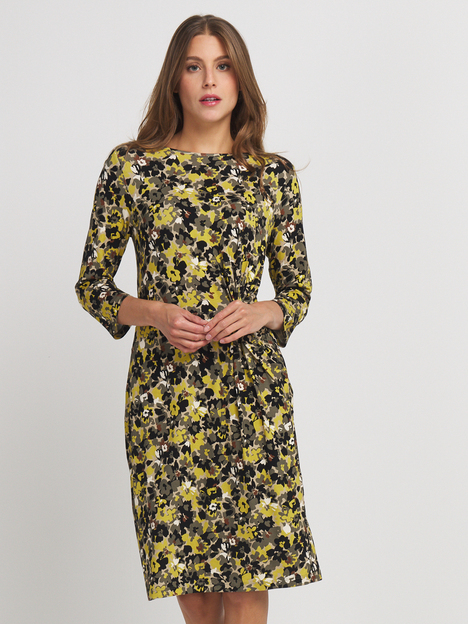 Robe en jersey fluide imprimé BETTY BARCLAY