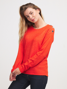 Pull JULIE GUERLANDE 56JG2PU400 Orange