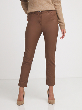 Pantalon JULIE GUERLANDE 56JG2PS030 Marron
