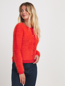 Gilet JULIE GUERLANDE 56JG2GI410 Orange