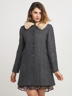 Manteau TRENCH AND COAT MZ33ATTYAE Gris
