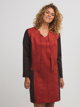 Veste DIANE LAURY 56DL2VE418 Marron