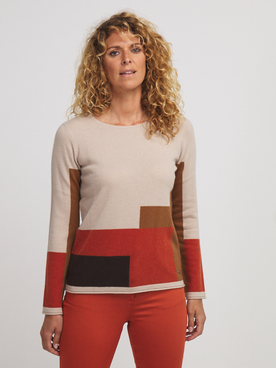Pull DIANE LAURY 56DL2PU404 Marron