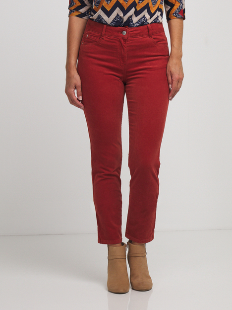 Pantalon 5 poches velours milleraies DIANE LAURY