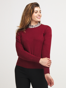 Pull MEXX 75918 Rouge bordeaux
