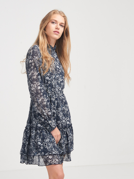 Robe MOLLY BRACKEN N127H20 Bleu marine