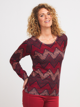 Pull DIANE LAURY 56DL2PU116 Rouge