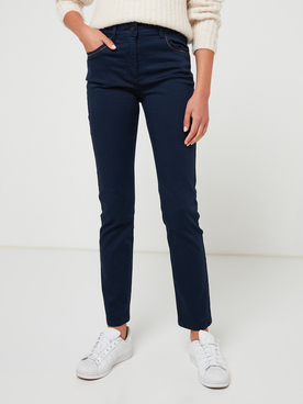 Pantalon DIANE LAURY 56DL2PS900 Bleu marine