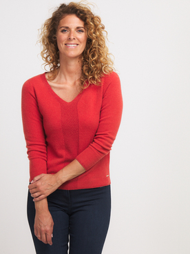 Pull DIANE LAURY 56DL2PU906 Rouge