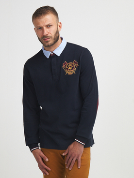 Polo CAMBRIDGE LEGEND 56CG1PO100 Bleu marine