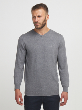 Pull CAMBRIDGE LEGEND 56CG1PU001 Gris clair
