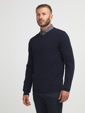 Pull CAMBRIDGE LEGEND 56CG1PU001 Bleu marine