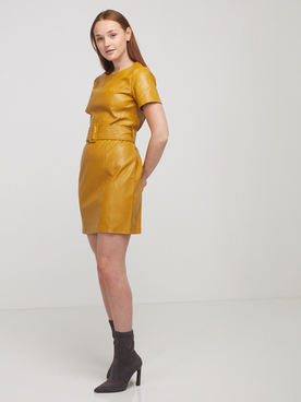 Robe MOLLY BRACKEN T1299A20 Jaune moutarde