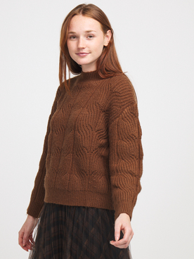 Pull LILI SIDONIO BY MOLLY BRACKEN LAL109A20 Marron