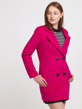 Manteau LILI SIDONIO BY MOLLY BRACKEN RL1558A20 Rose fuchsia